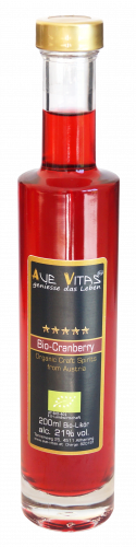 Ave-Vitas Cranberry Bio Craft Likör 200 ml